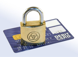 Picture of lock indicating secure course payment and registration